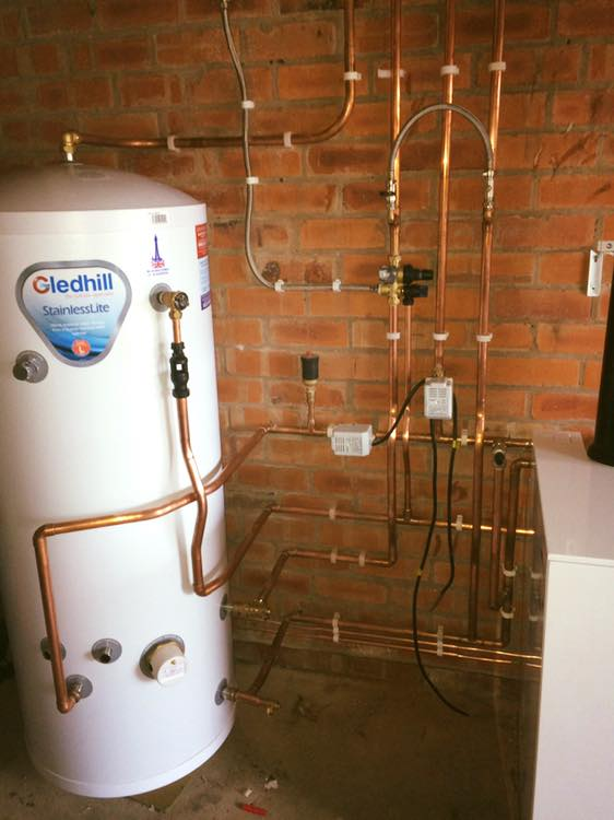 recent gas appliance installed by our engineer from kw plumbing and heating in wigan